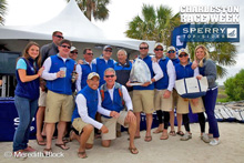 J/122 TEAMWORK- Robin Team's crew at Charleston Race Week