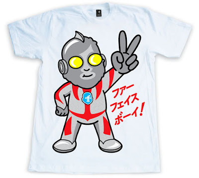 Japan Relief Ultra FFB T-Shirt by Fur Face Boy
