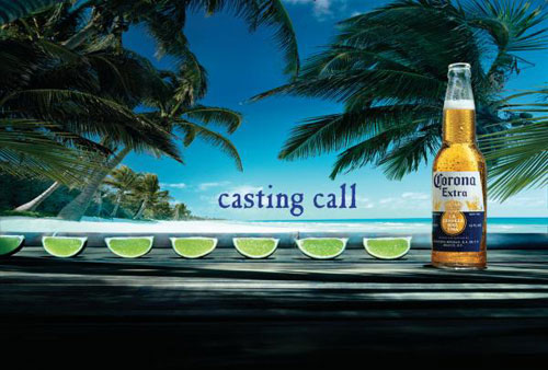 Great example of the Corona beer commercials