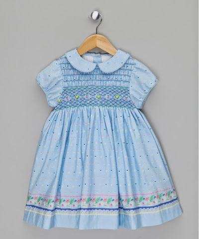 Hand Smocked Dress Couche Tot