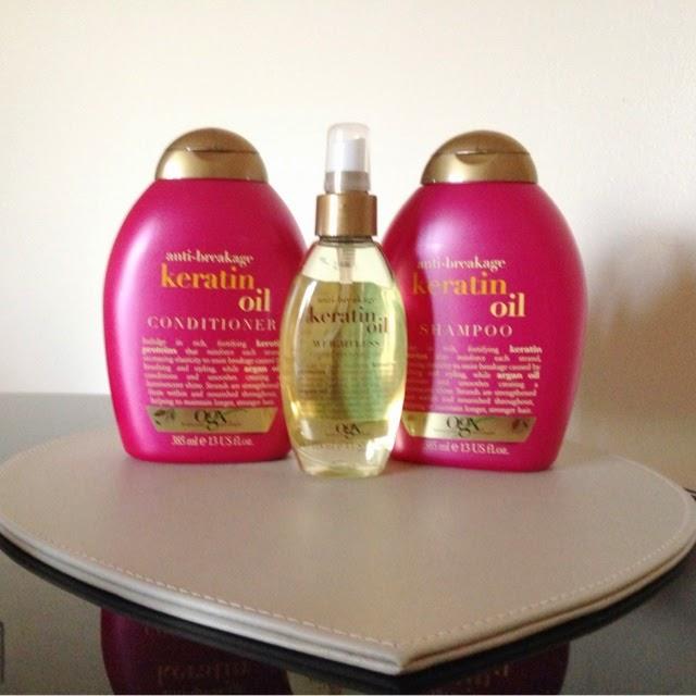 Organix Keratin Oil For Natural Hair