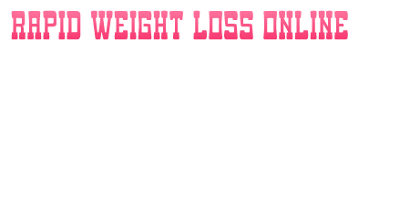 Rapid Weight Loss Supplements 2014