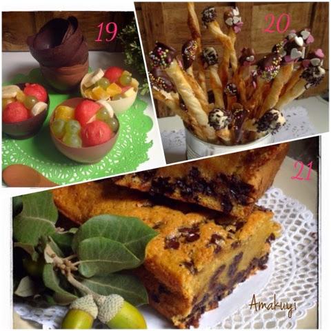 Vajilla-chocolate-palitos-hojaldre-Bizcocho-calabaza