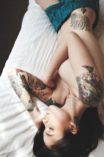 cute girls images with tattoos
