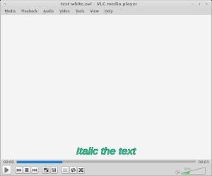 Italic 斜體設定,以 1 為使用,0 為不使用