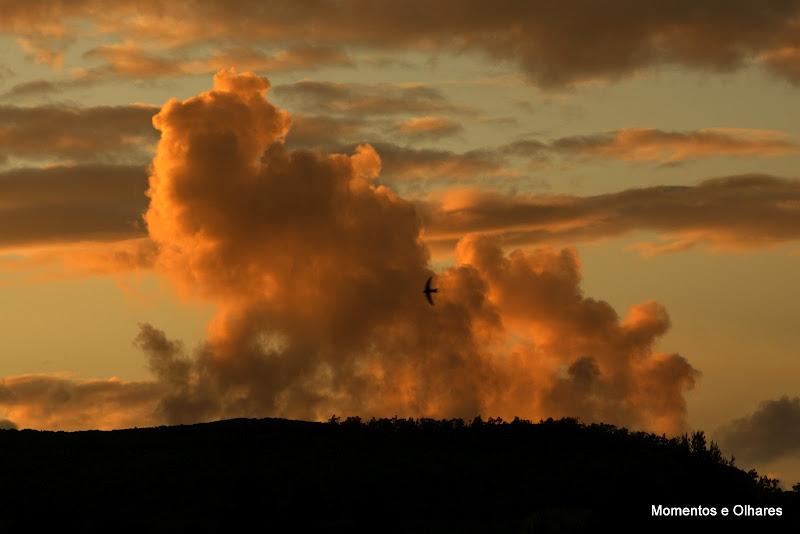 Nuvens em setúbal