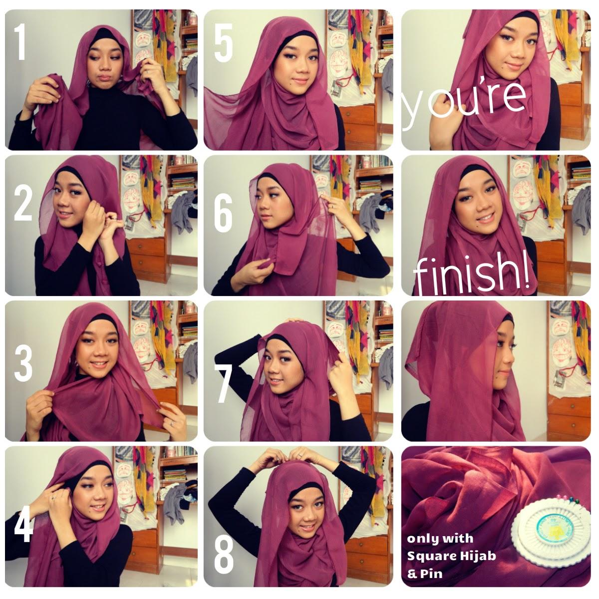 30 Foto Tutorial Hijab Ala Ivan Gunawan Terupdate Tutorial Hijab