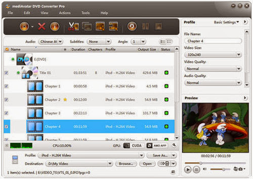 mediAvatar Video Converter Pro 7.7.2.20130619 [Multi] - Conversor de v�deos
