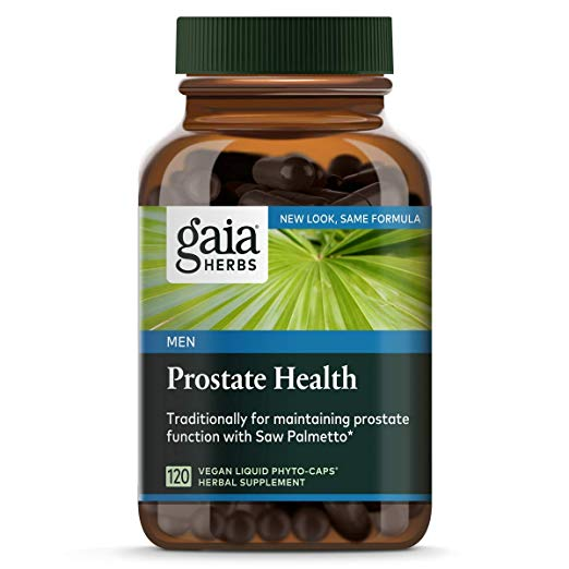 image of Gaia Herbs prostate supplement