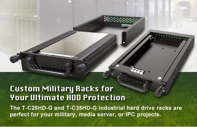 Custom Military Racks for your Ultimate HDD Protection
