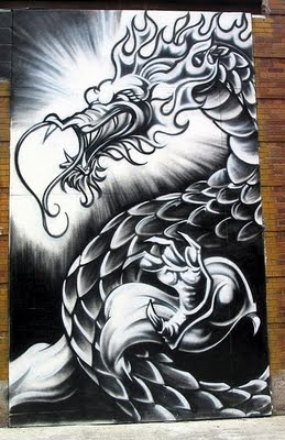 Schivandorospi Art Dragon Wallpaper Graffiti 3d