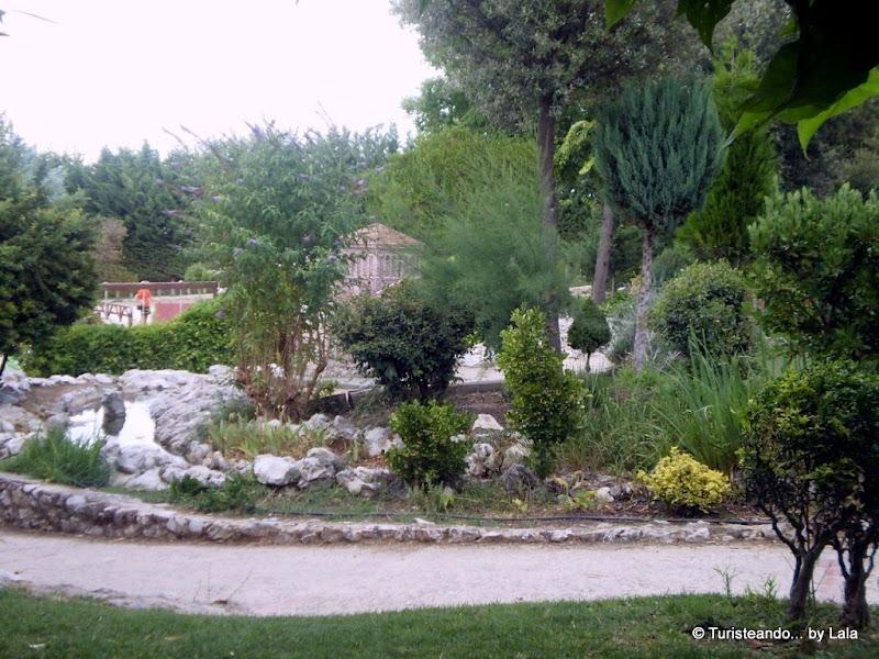 Jardines del Parque del Mudéjar, Olmedo