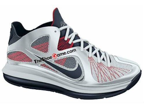 First Look Nike LeBron 9 Low 8220USA Basketball8221 2012