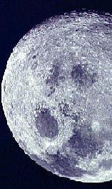 Σελήνη με κρατήρες