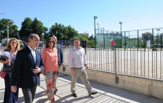 Inverrsión en zonas verdes, eficiencia energética y asfaltado del distrito Salamanca en 2014