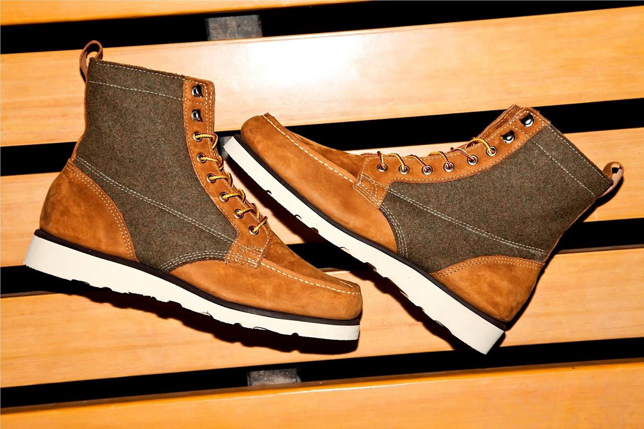 *SEBAGOxWoolrich®:Stockton 皮革百年羊毛混搭紳士鞋履! 6