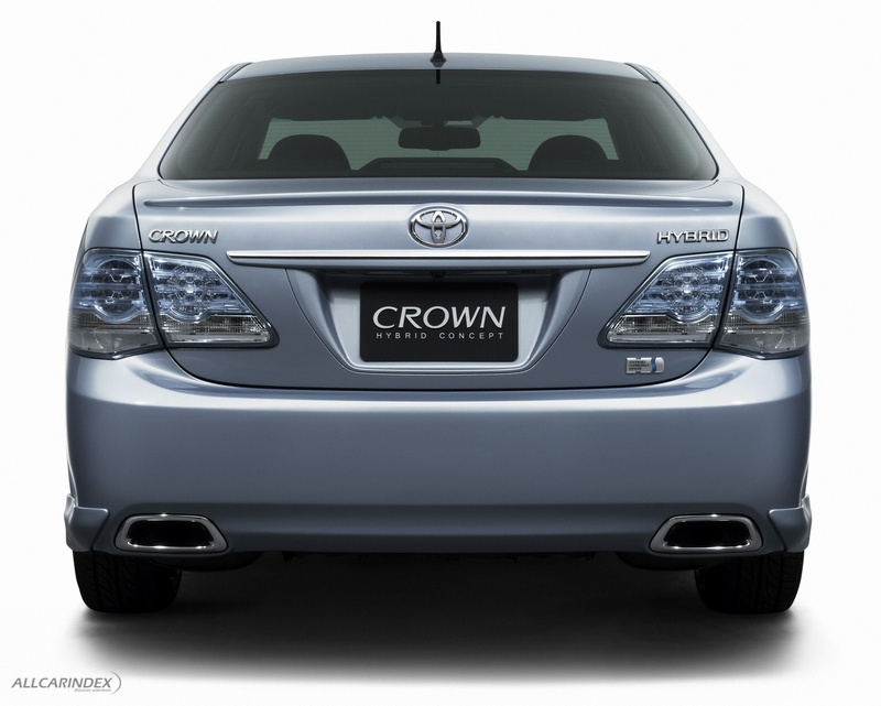 Toyota Crown Hv Concept