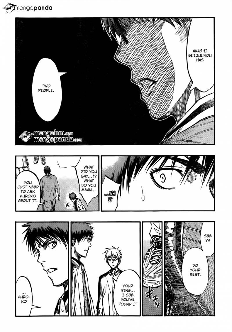 Kuroko no Basket Manga Chapter 203 - Image 20