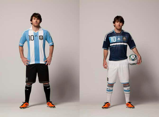 831f9558f30 Lionel Messi Fan Site: The New Argentina Jersey For Lionel Messi and ...