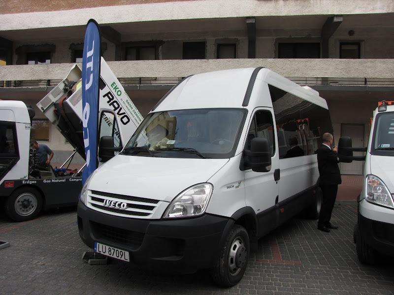 Iveco Daily CNG jako pojazd dla przewozu osób