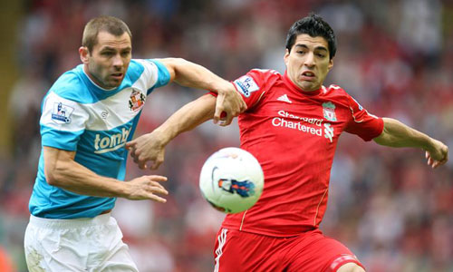 Suarez, Liverpool - Sunderland