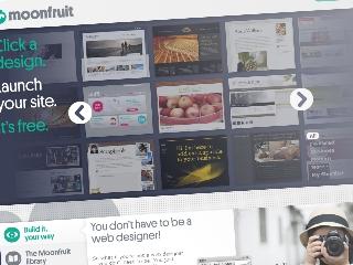 Criar site Moonfruit