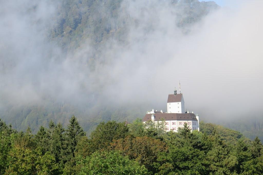 Der Start erfolgte in Hohenaschau