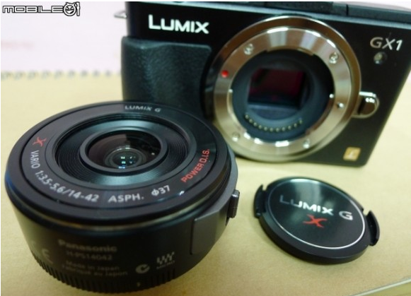 Panasonic GX1 with M4/3