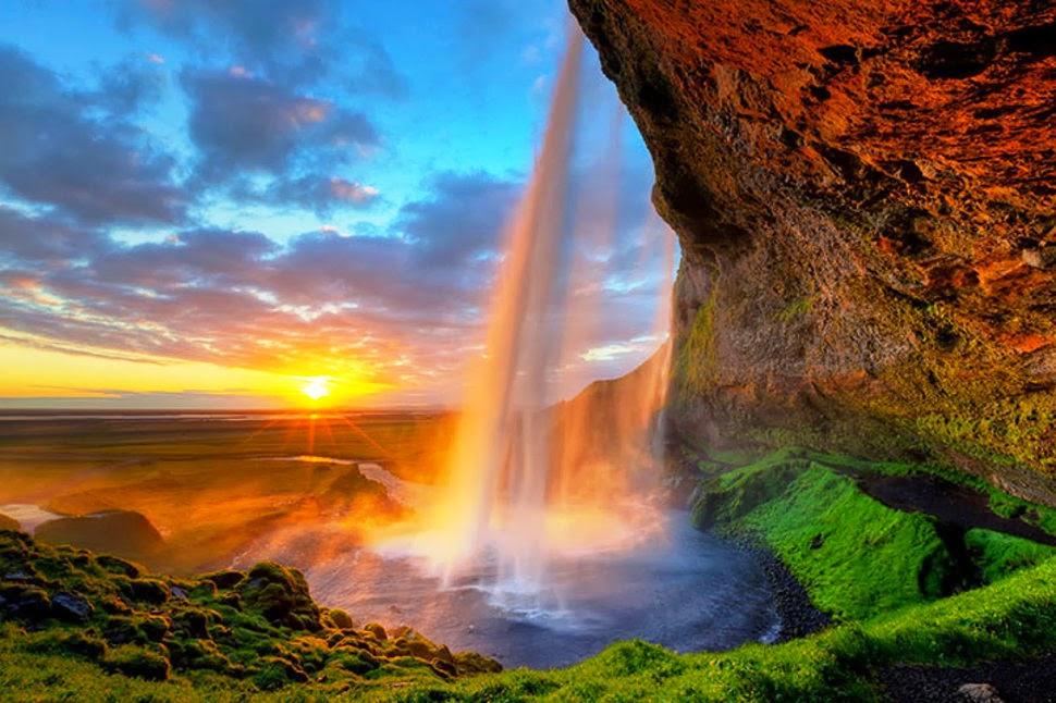 Сельяландсфосс, Исландия, Красивые водопады планеты