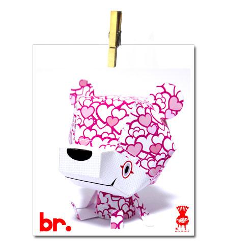 2012 Valentine's Day br Paper Toy