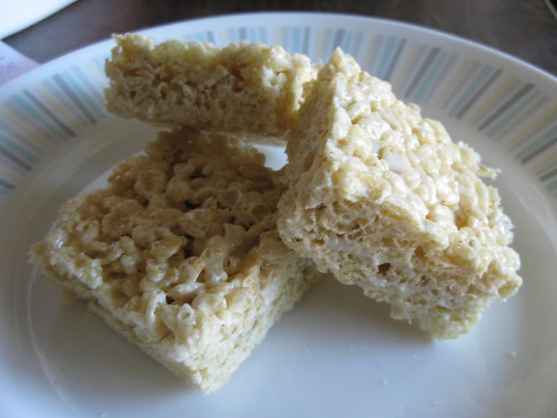 Brown-butter Rice Krispies treats