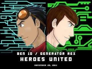 Download - Ben 10 & Mutante Rex - Heróis Unidos - BDRip AVI Dublado