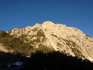 Die Gipfelflanke der Großen Arnspitze