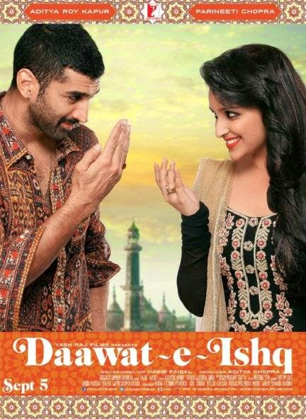 Poster Of Hindi Movie Daawat-e-Ishq (2014) Free Download Full New Hindi Movie Watch Online At alldownloads4u.com