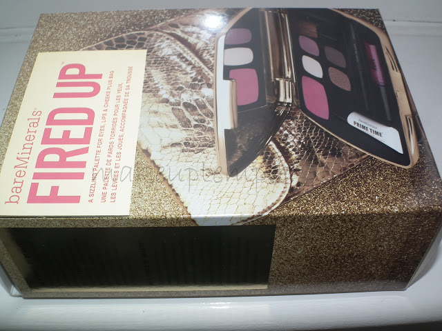 Bare Minerals FIRED UP Palette