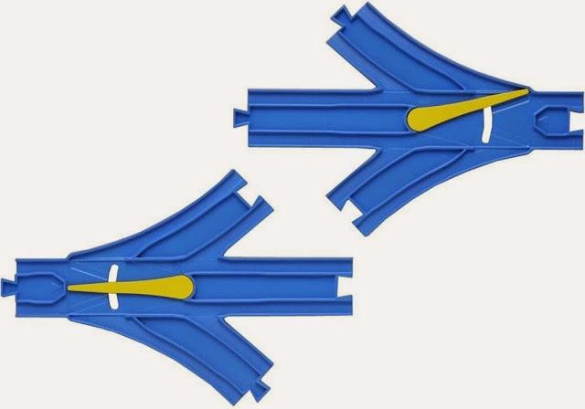 Sản phẩm bao gồm 2 đoạn Ray chia 3 nhánh