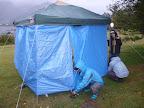 暴風雨の中、テント設置 2011-10-28T01:09:56.000Z