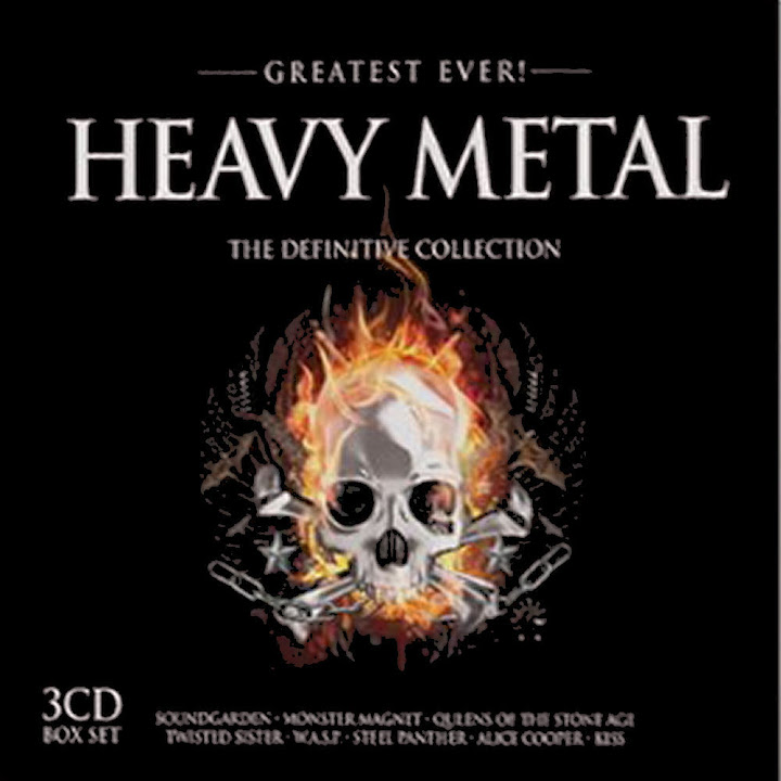 8 Download CD Greatest Ever Heavy Metal   2012