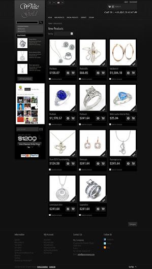 Product List - White Gold 1.0 Prestashop Themes