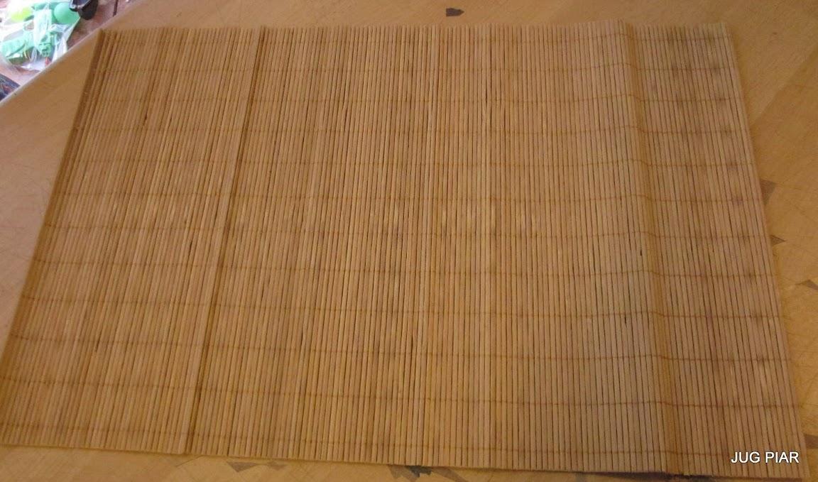 Platzdeckchen Bambus Ca 44x29 5 Platzdecke Tischdecke Platzmatte