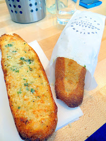 Grassa, garlic bread, from Rick Gencarelli