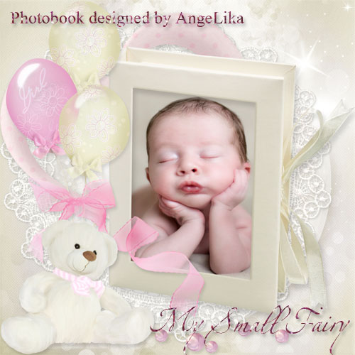 Photobook for Girls - My Small Fairy