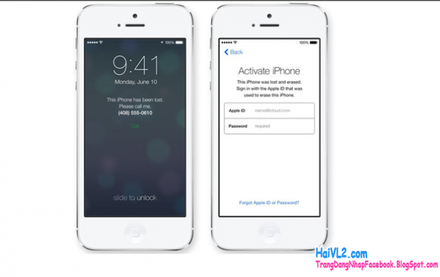 iphone, ipad activation lock, khóa icloud