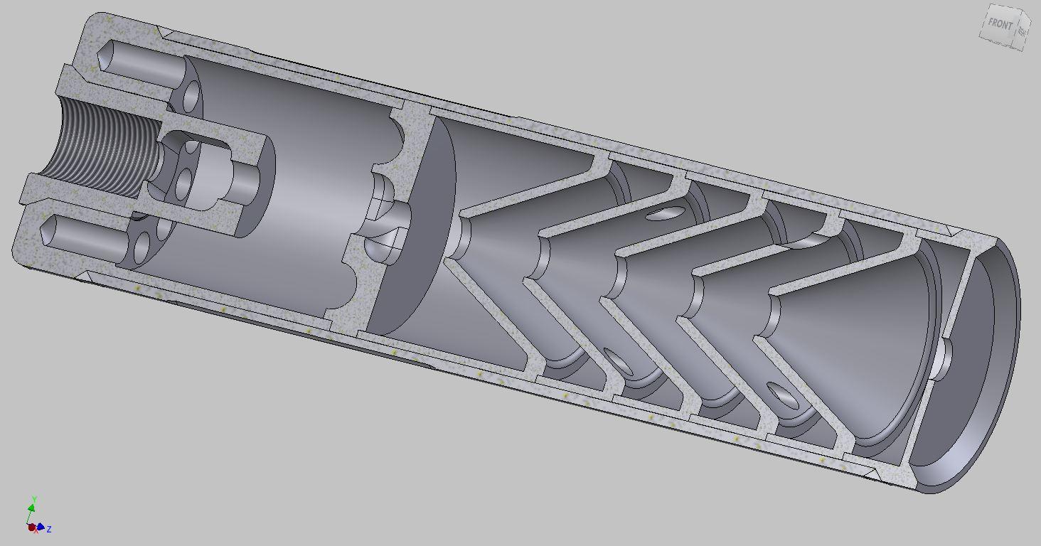 Suppressor Diagrams Rifle Can