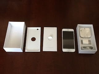 iPhone6の箱に入っていた物を展開