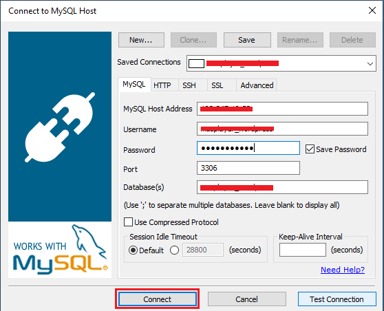 Cara Remote Database RDS melalui mysqlyog image 3