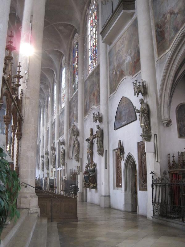 Церкви Германии. Якобскирхе в Штраубинге. Germany, St. Jakob-Church, Straubing