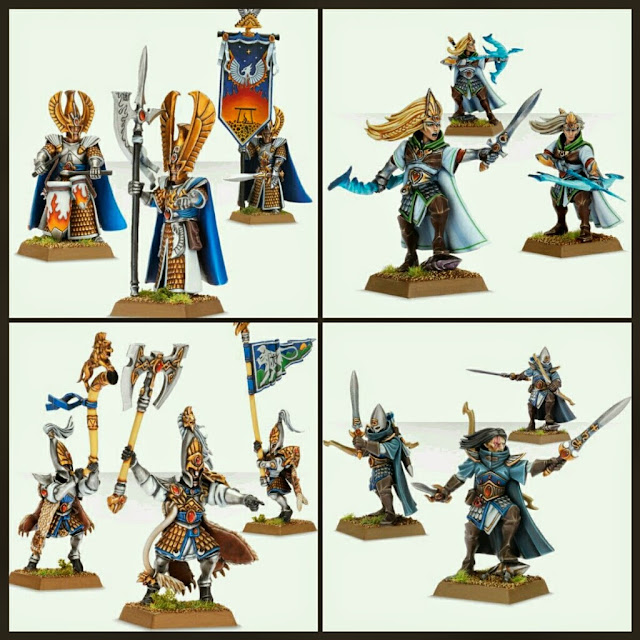 Altos Elfos de Fantasy Games Workshop