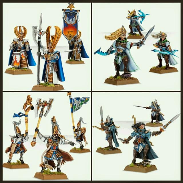 Altos Elfos de Fantasy Games Workshop