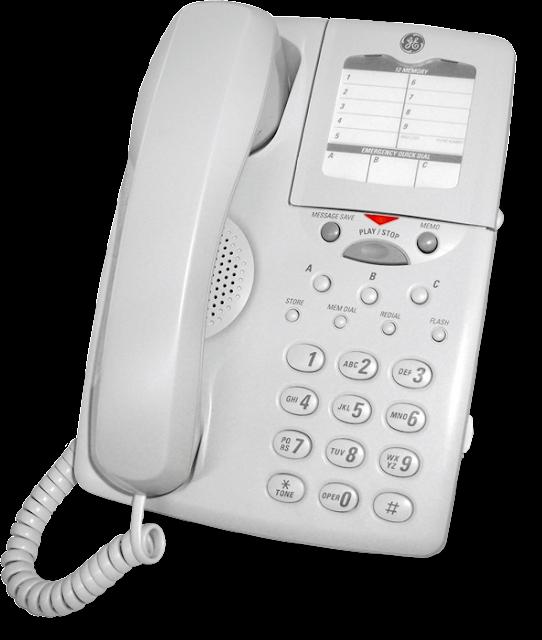 Τηλεψωνητής-Τηλέφωνο GE 2-9824